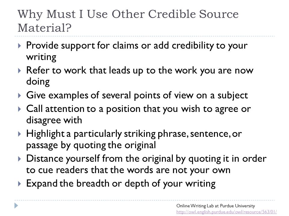 how to use credible in a sentence