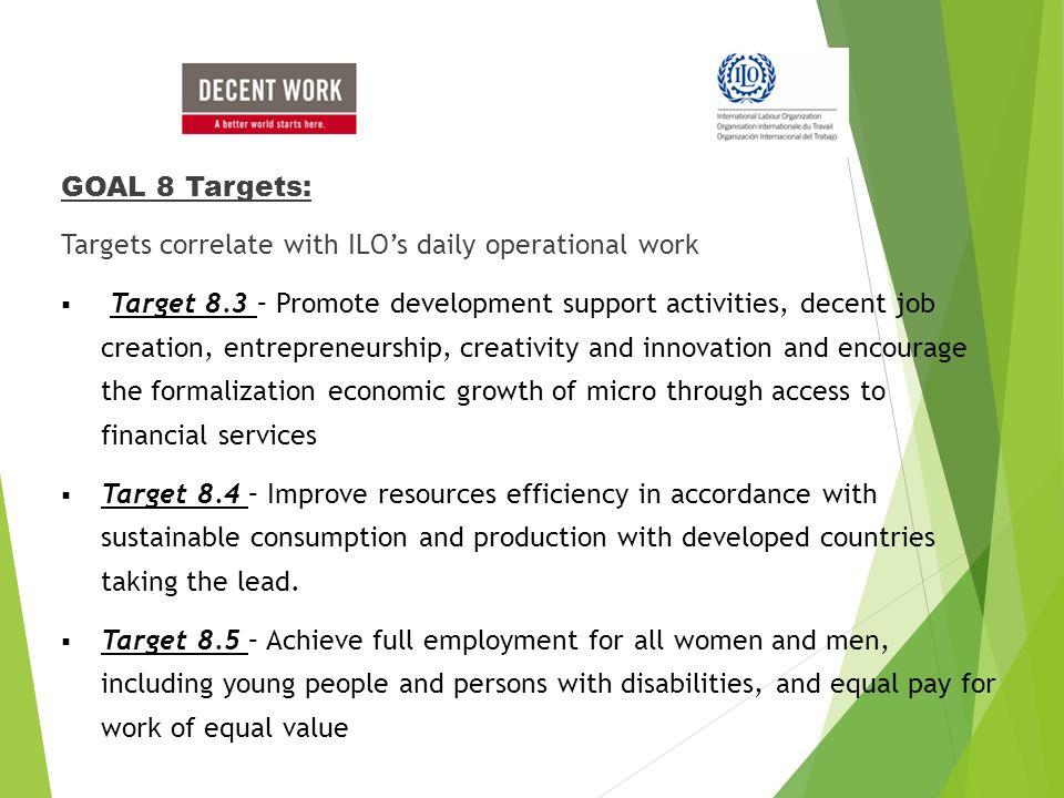 decent work and economic growth pdf