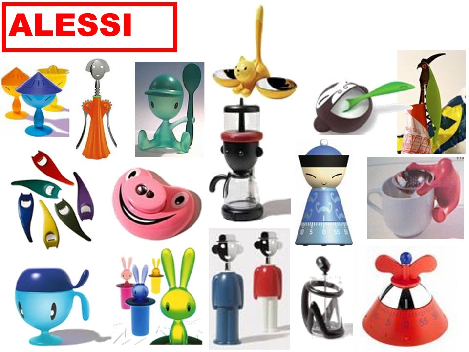 Alessi cucina idea inspiration ppt video online download for Accessori cucina alessi