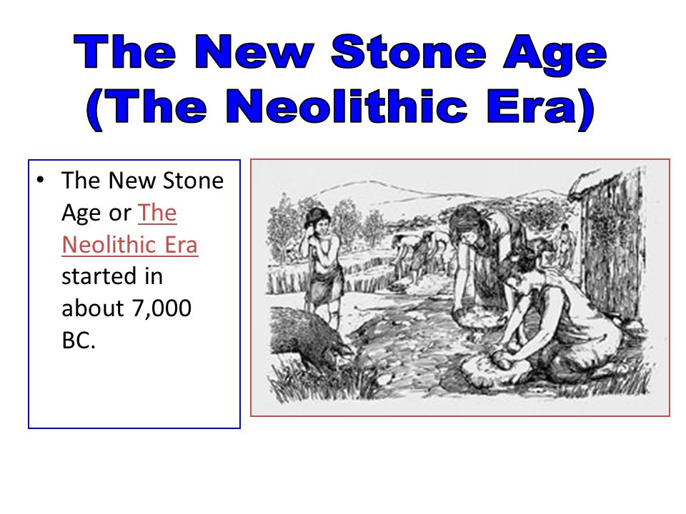 the changes that happened from the paleolithic period to the neolithic period Neolithic era timeline timeline description: the neolithic era, also known as the new stone age starting in the middle east, the neolithic period starts to move into the copper age as copper tools replace stone tools.