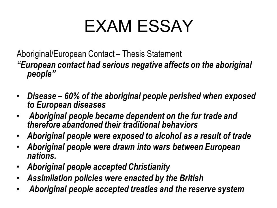 aboriginal essay questions Each essay was relatively in depth in regards to the focus topic aboriginal spirituality: aboriginal philosophy inquiry questions 1.