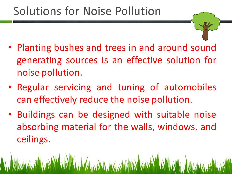 Noise Pollution Amp It S Sustainable Solution Ppt Video Online Download