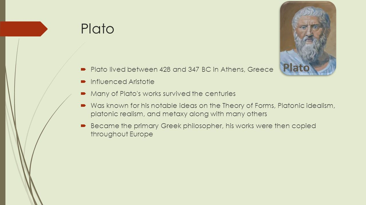 plato and his theory of ideas
