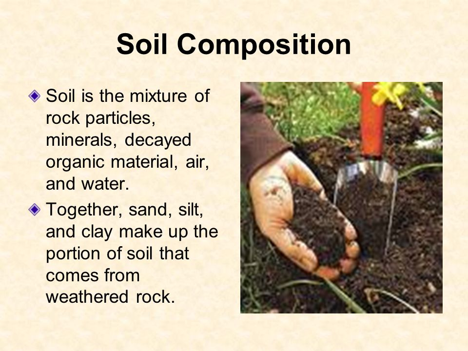 How soil forms 6 e 2 3 explain how the formation of soil for What is soil a mixture of