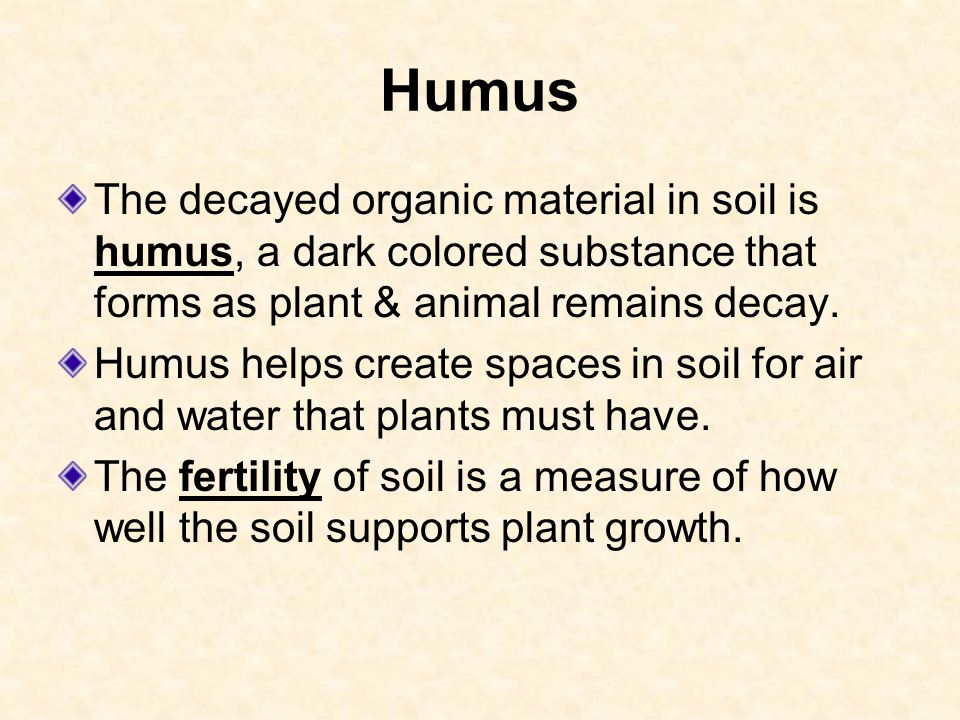 HOW SOIL FORMS 6.E.2.3 Explain how the formation of soil is ...