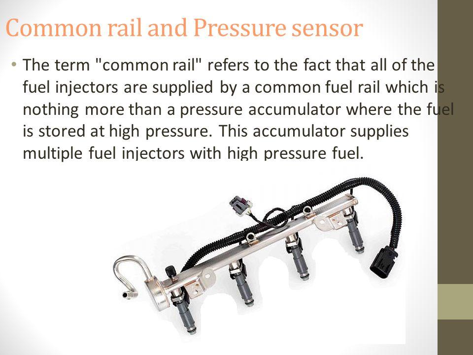 Common rail and Pressure sensor