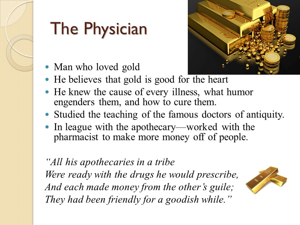 doctors tale in canterbury tales Free physician's tale - summary and analysis of the physician's tale (the canterbury tales) them not be afraid of doctors or receiving annual check-ups.