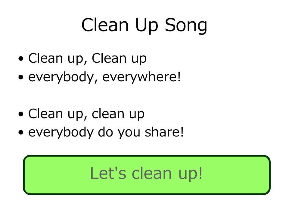clean up song download