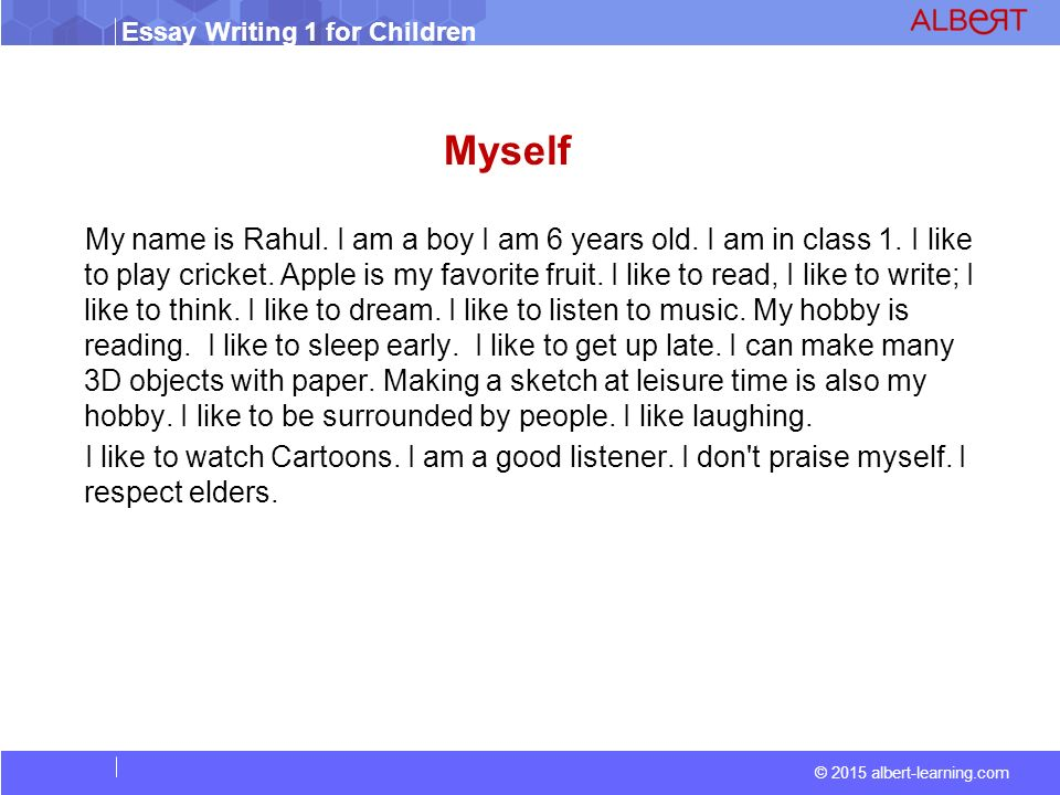 Essay About Myself As A Writer  An Essay About Myself Writing  Essay About Myself As A Writer