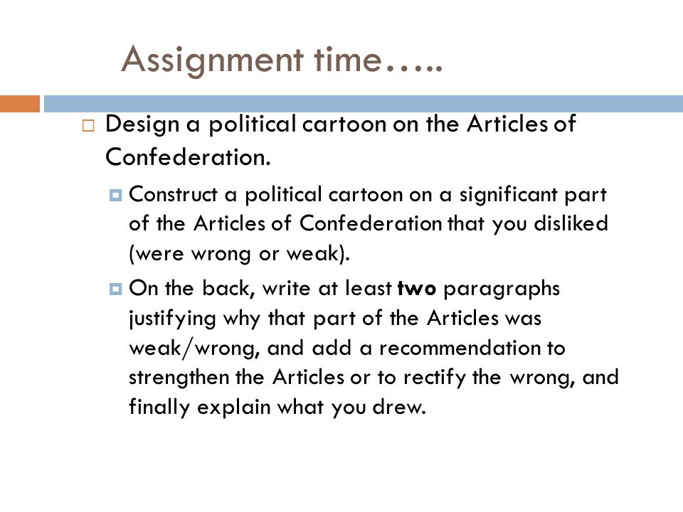 a paper on the articles of confederation Free articles of confederation papers, essays, and research papers.