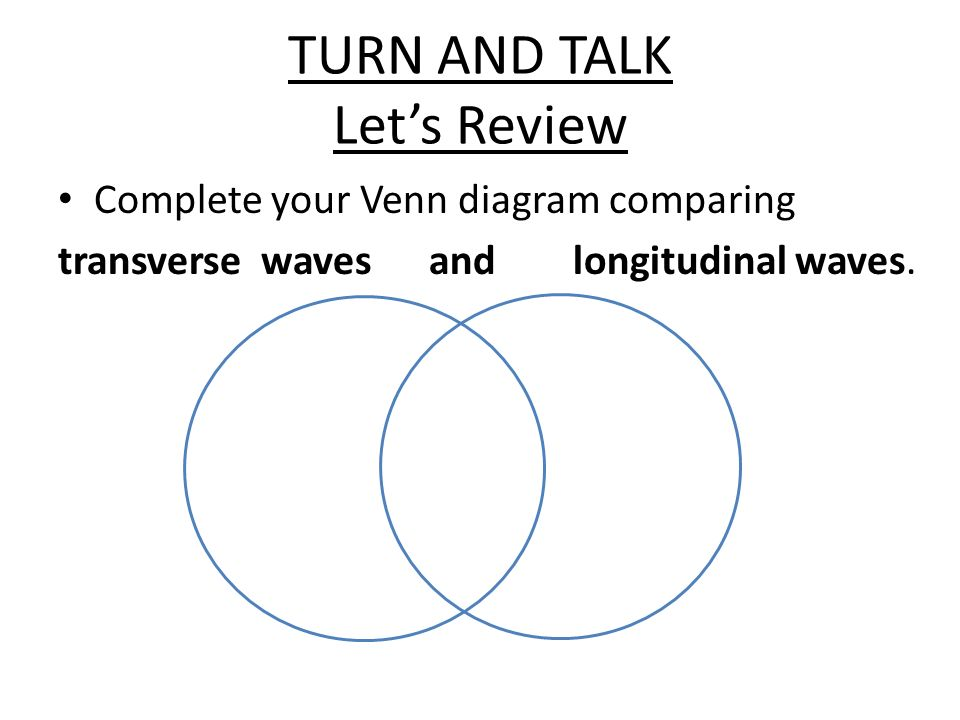 Transverse And Longitudinal Waves Venn Diagram Akbaeenw
