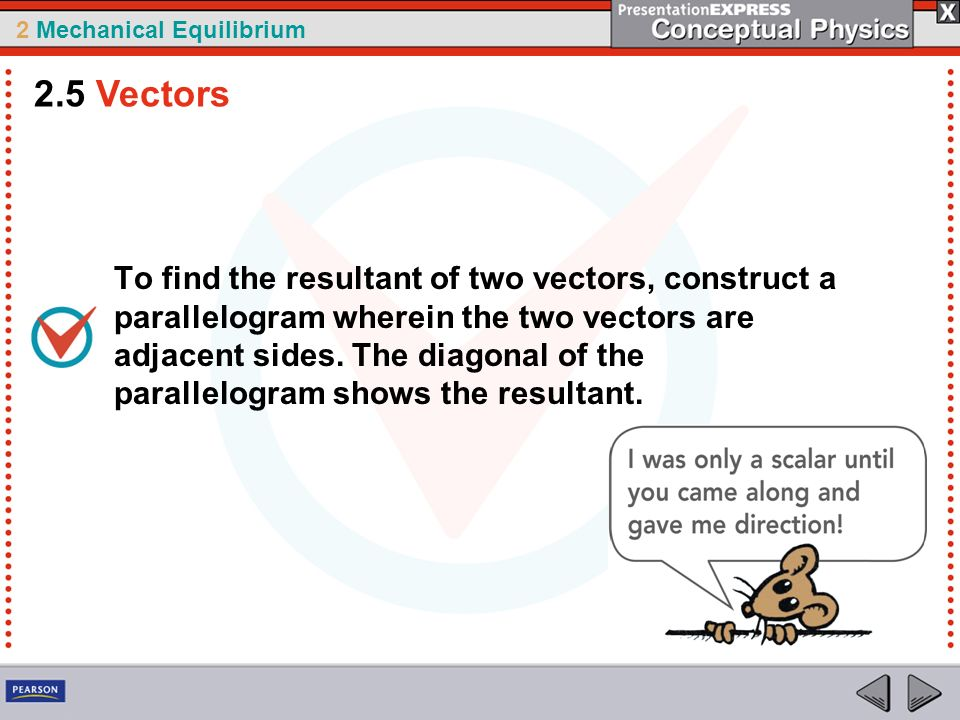 how to find resultant of two vectors