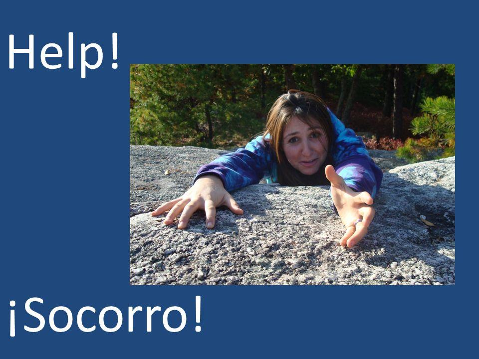 Help! ¡Socorro!