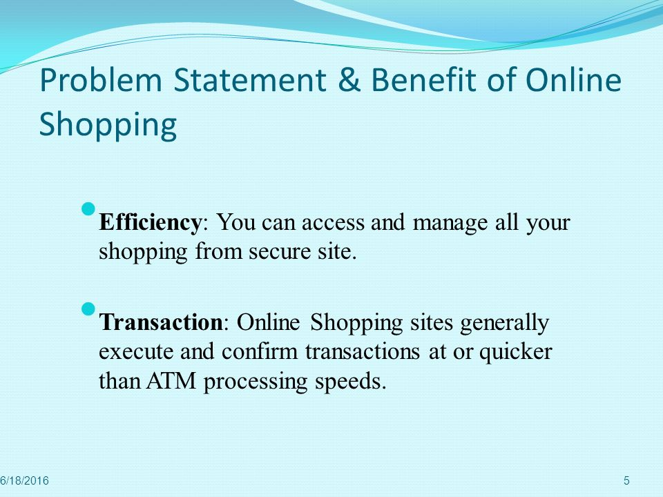 statement of the problem of online shopping Are you looking for problem statement for online shopping project  get details of problem statement for online shopping projectwe collected most searched pages list.