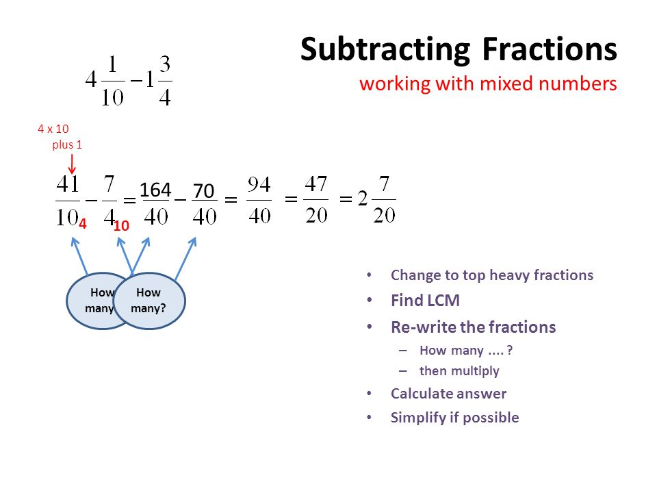 how to find lcm of fractions