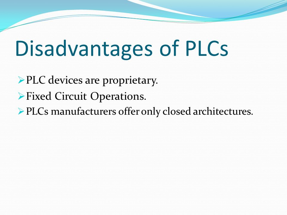 Seminar On Quot Plc Programmable Logic Controller Ppt