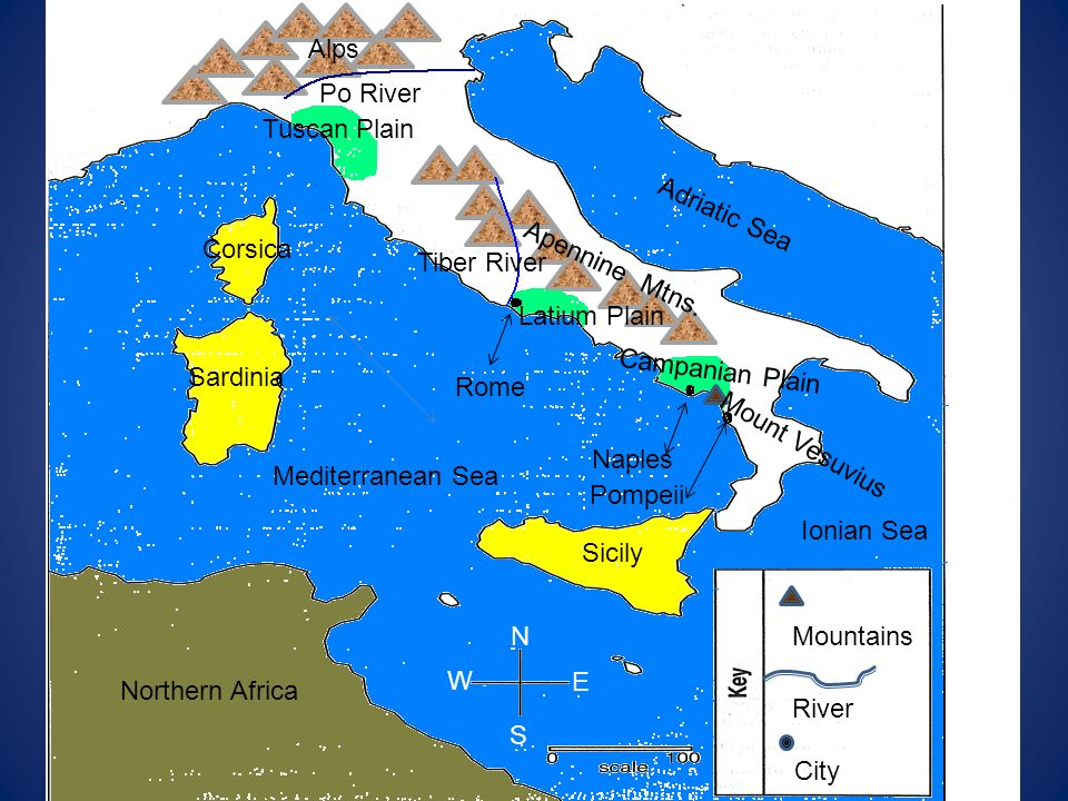 Labeled Map Is On Last Slide Ppt Video Online Download - Map of ancient rome po river