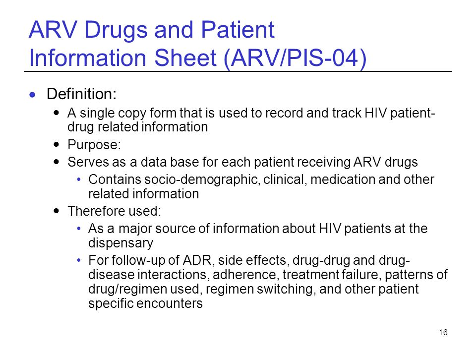 Hiv Care And Art A Course For Pharmacists Ppt Download