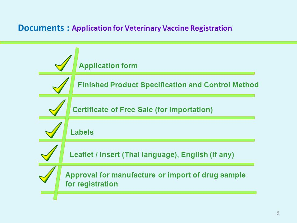 Veterinary products management and quality control system in 8 documents application yadclub