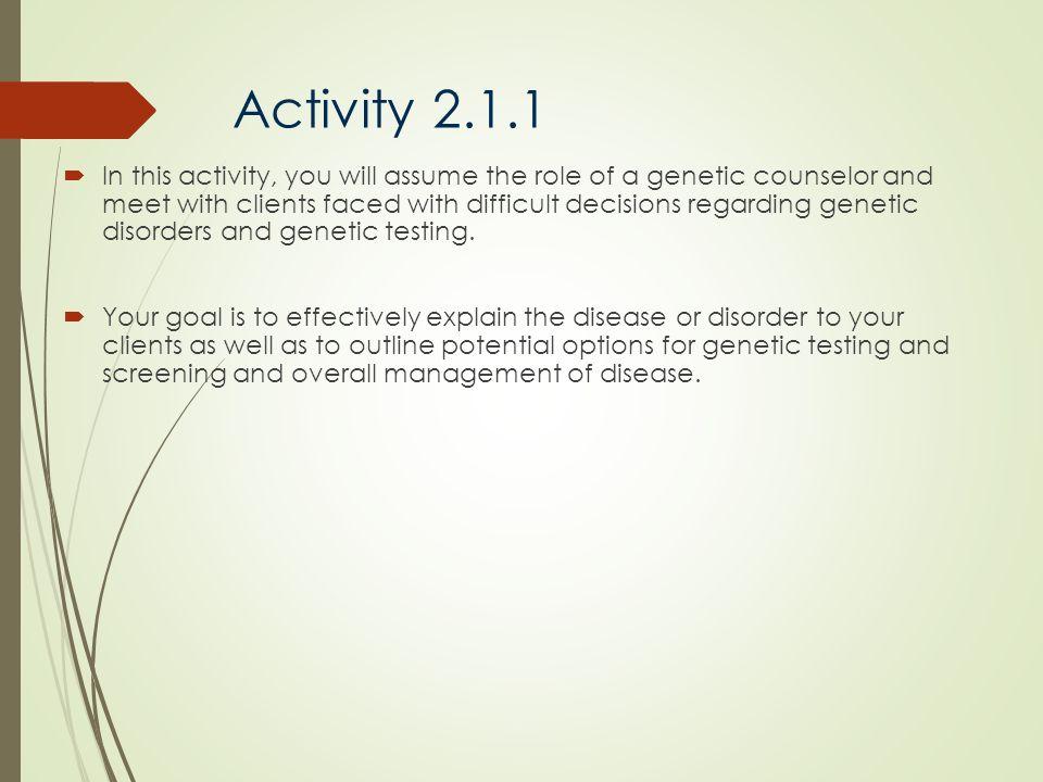 Activity 2.1.1