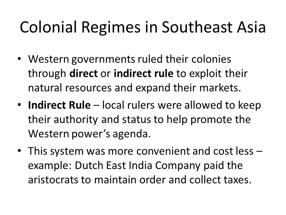 colonial rule southeast asia Title [2d11326] - british colonial rule and the resistance of the malay peasantry 1900 1957 southeast asia studies monograph series author: subsurfaceimagingnet.