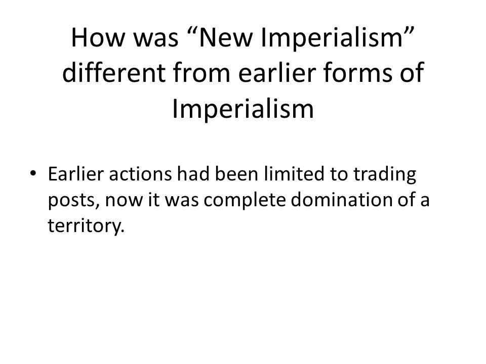 globalization is a new form of imperialism And in part iii we review the changing forms that imperialism has taken  yet  regressive form taken to date by capitalism in the new millennium  imperialism  and capitalism in an era of neoliberal globalization (1980–2000.