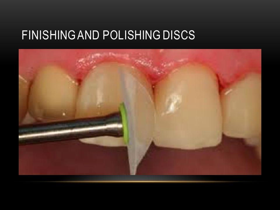 Finishing and polishing discs