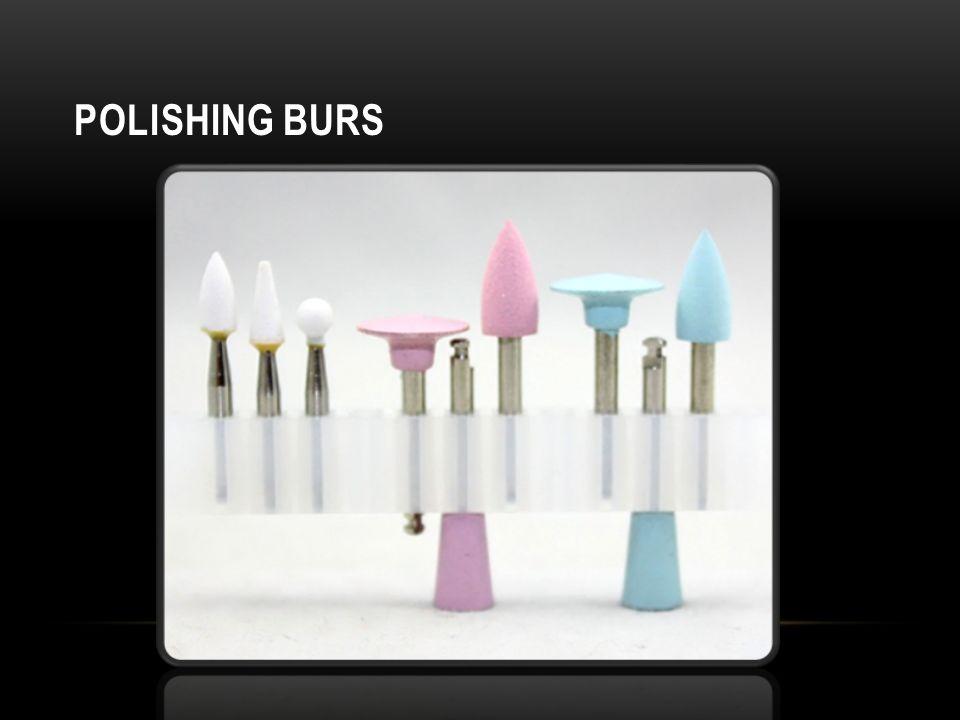 Polishing burs