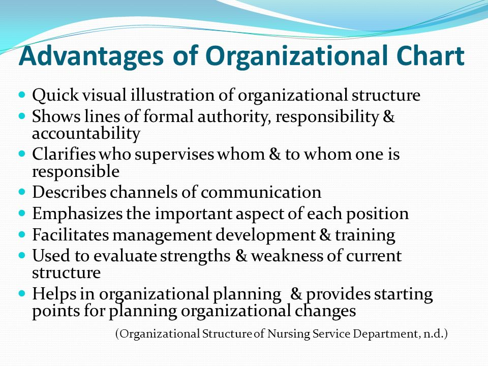 The Advantages of an Organizational Structure