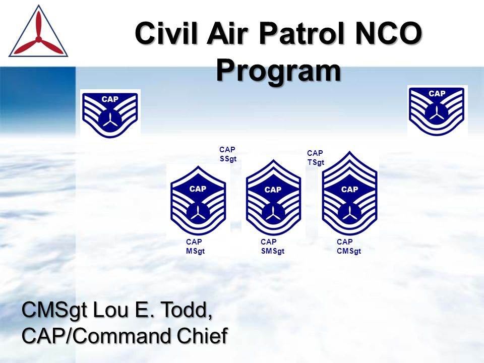 d953457b141 Civil Air Patrol NCO Program - ppt video online download