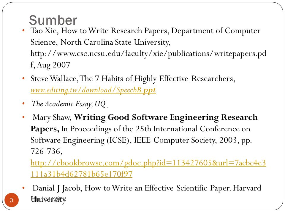 shaw writing good software engineering research papers