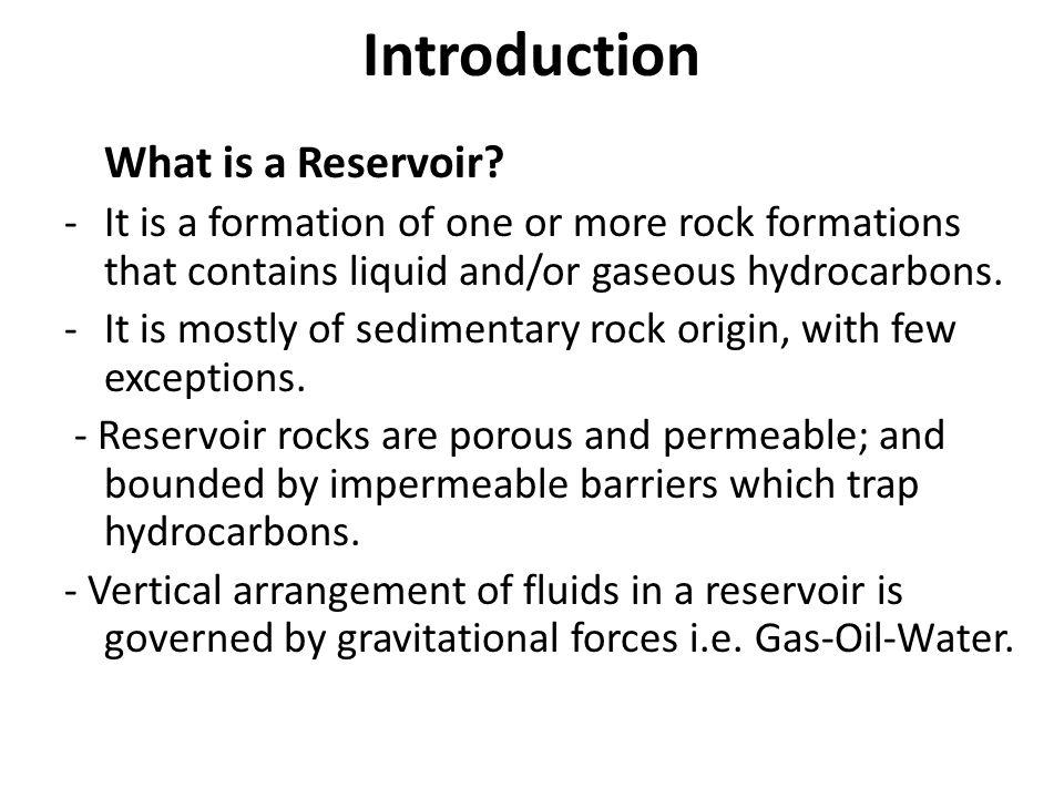 Principles of Reservoir Engineering - ppt download