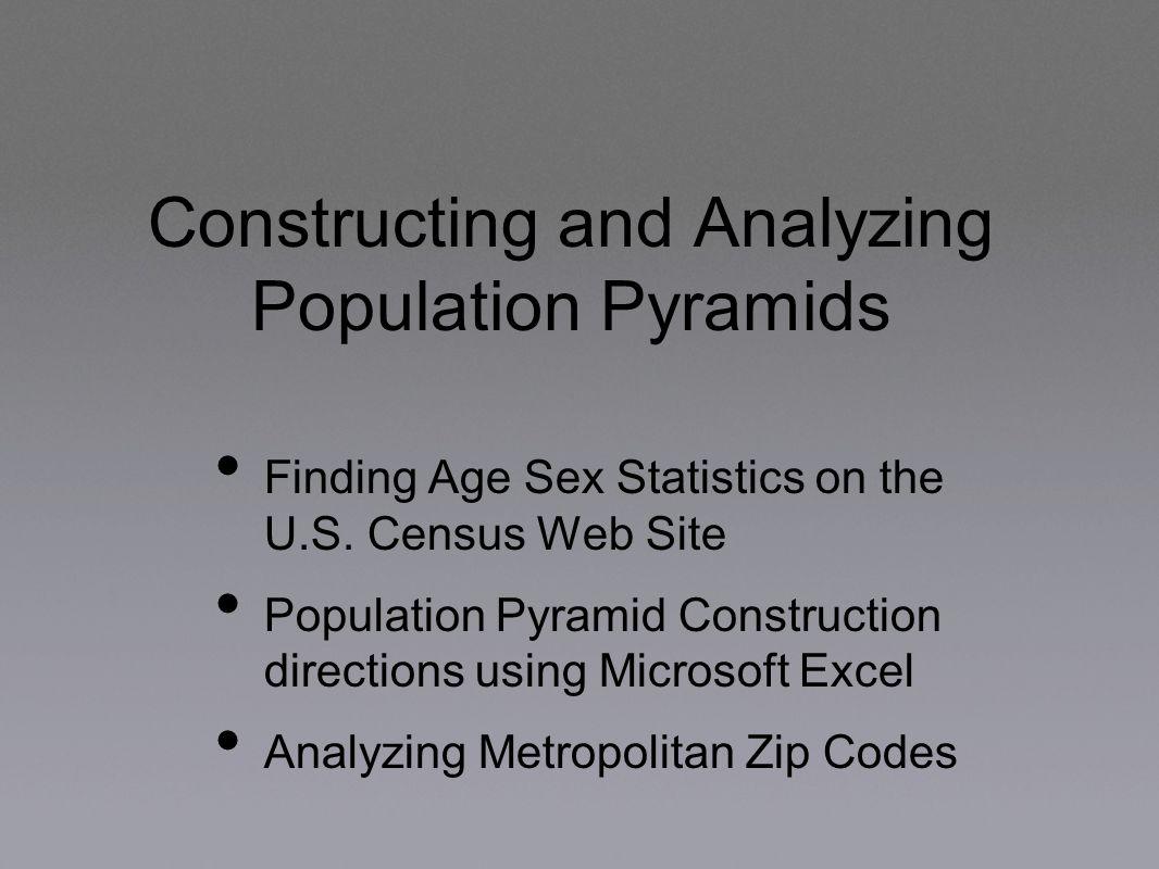 Understanding Population Pyramids Ppt Download - Us zip code population