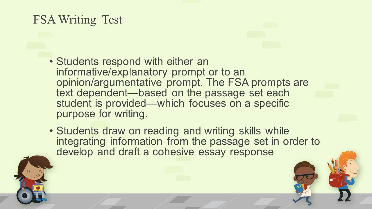 8th Grade FSA Writing Test UPDATE!