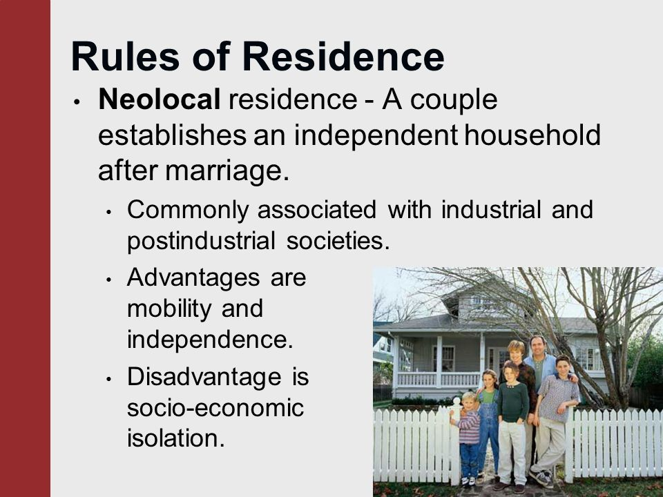 marriage in industrial societies In present day western society the institution of marriage appears to be of great   rudiment of a passing phase in the development of industrial societies.