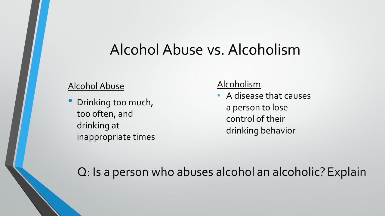 Social Issues and Alcoholism