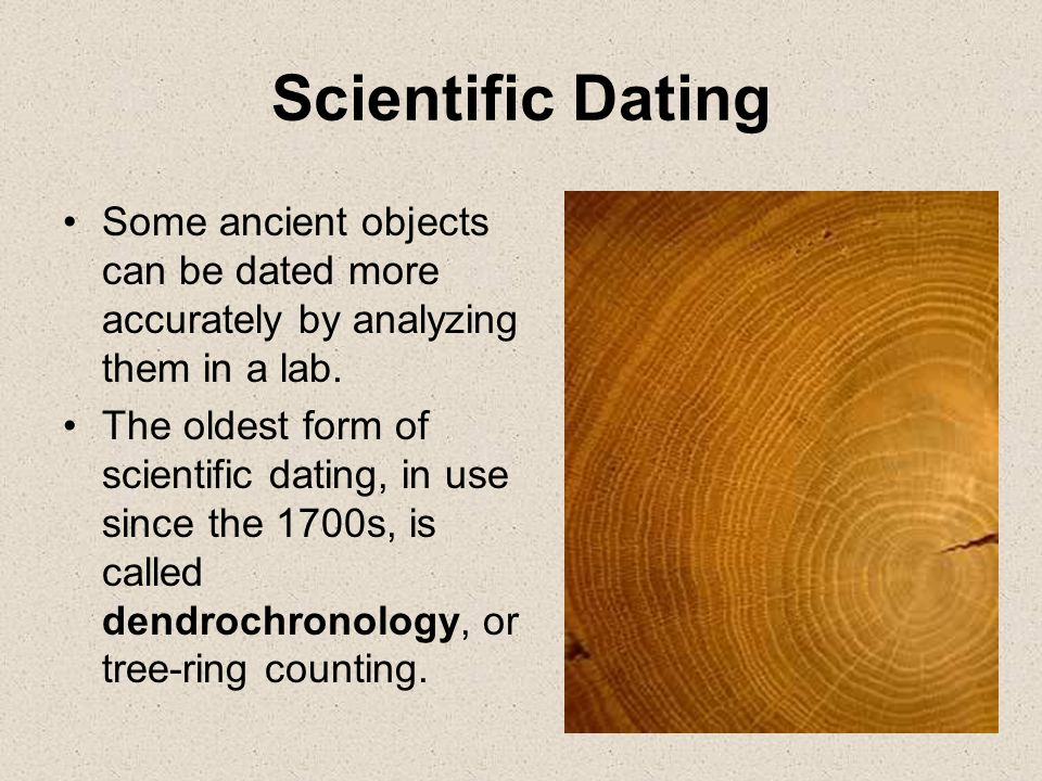 how does dendrochronology dating work