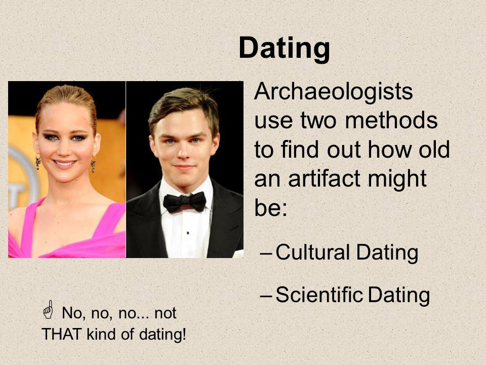 methods of dating archaeological evidence