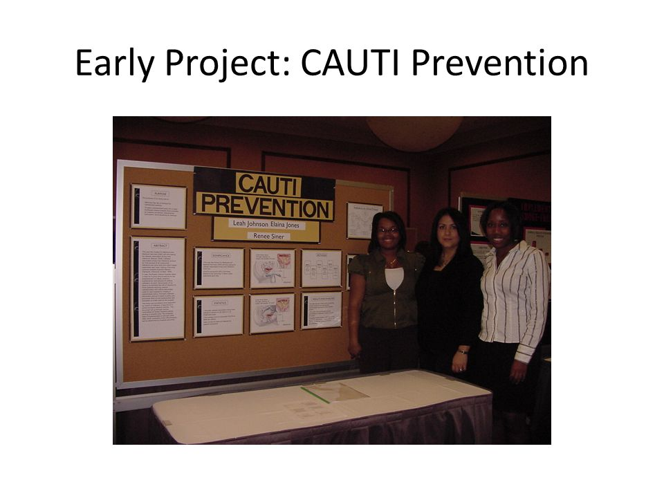 purdue cover letter workshop%0A    Early Project  CAUTI Prevention