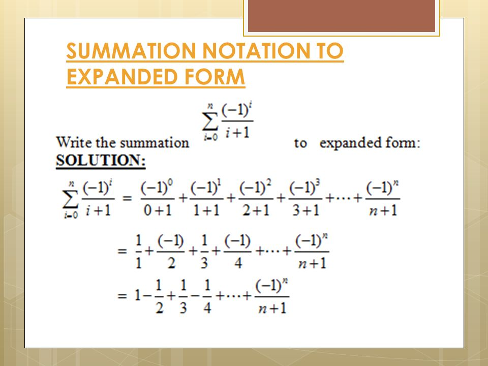 Write The Sum In Expanded Form Dolapgnetband
