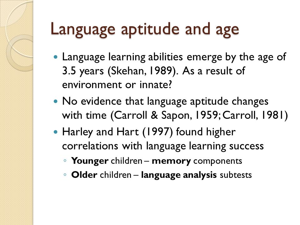 Foreign Language Aptitude Research Papers - Academia.edu