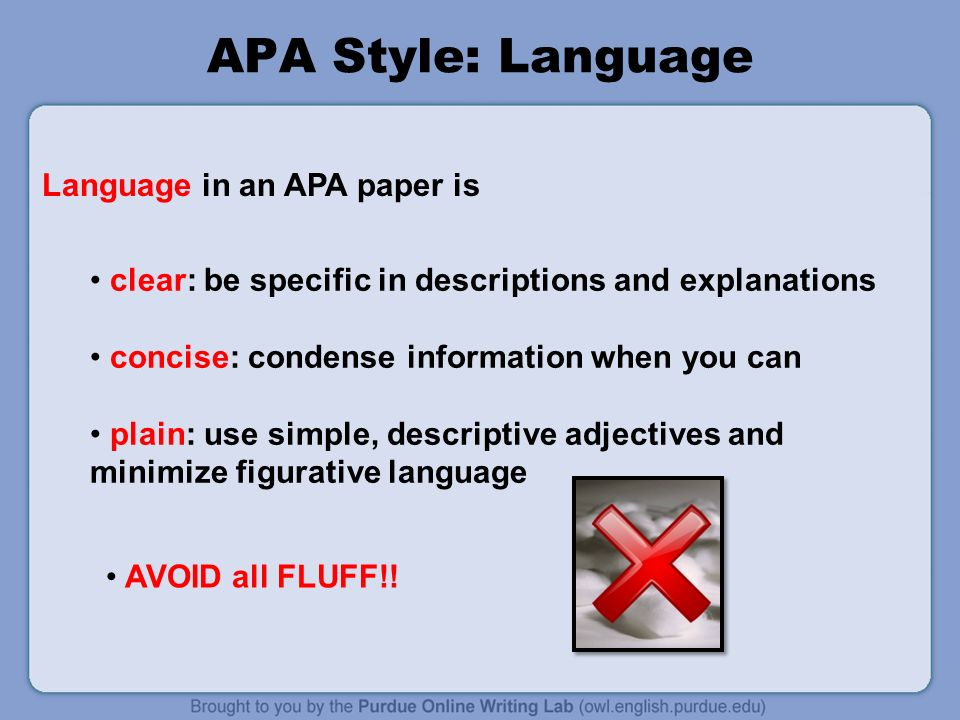 can you use we in an apa essay Writing better university essays/referencing  by referencing the sources you use in your essay,  whilst quotations can lighten up an essay, you should not rely.