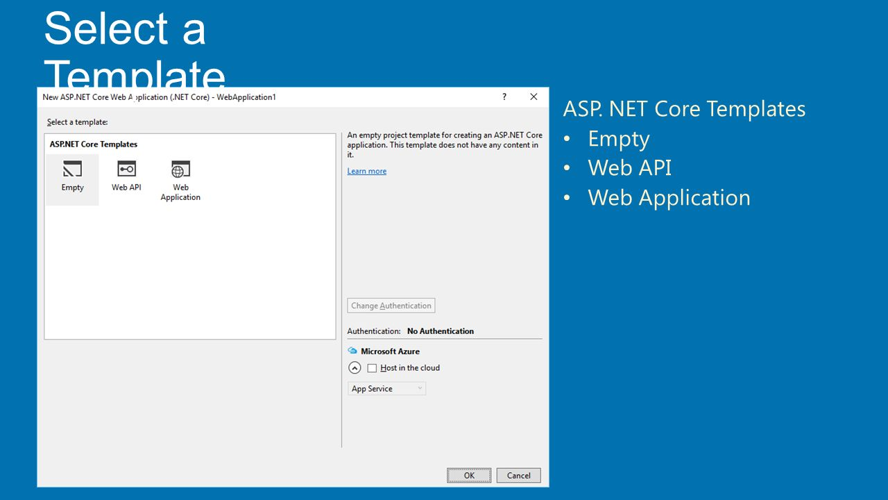 Asp net core 1 0 the future of web apps shahed chowdhuri for Aspx net templates