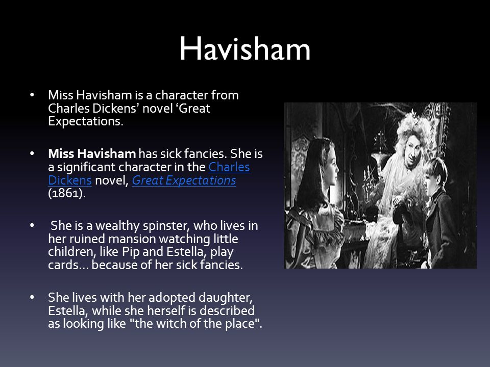 havisham ppt video online  2 havisham miss