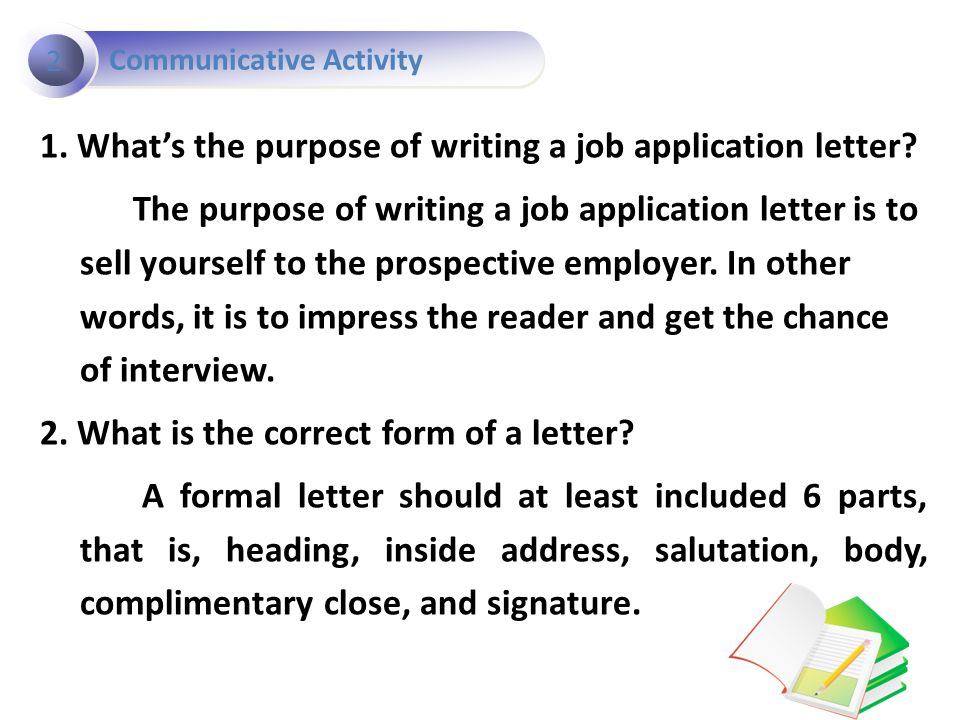 The components of the business letter ppt for What is the purpose of a covering letter