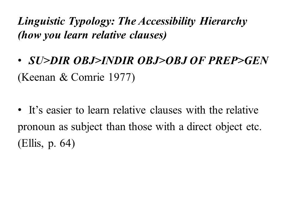 language universals linguistic typology pdf