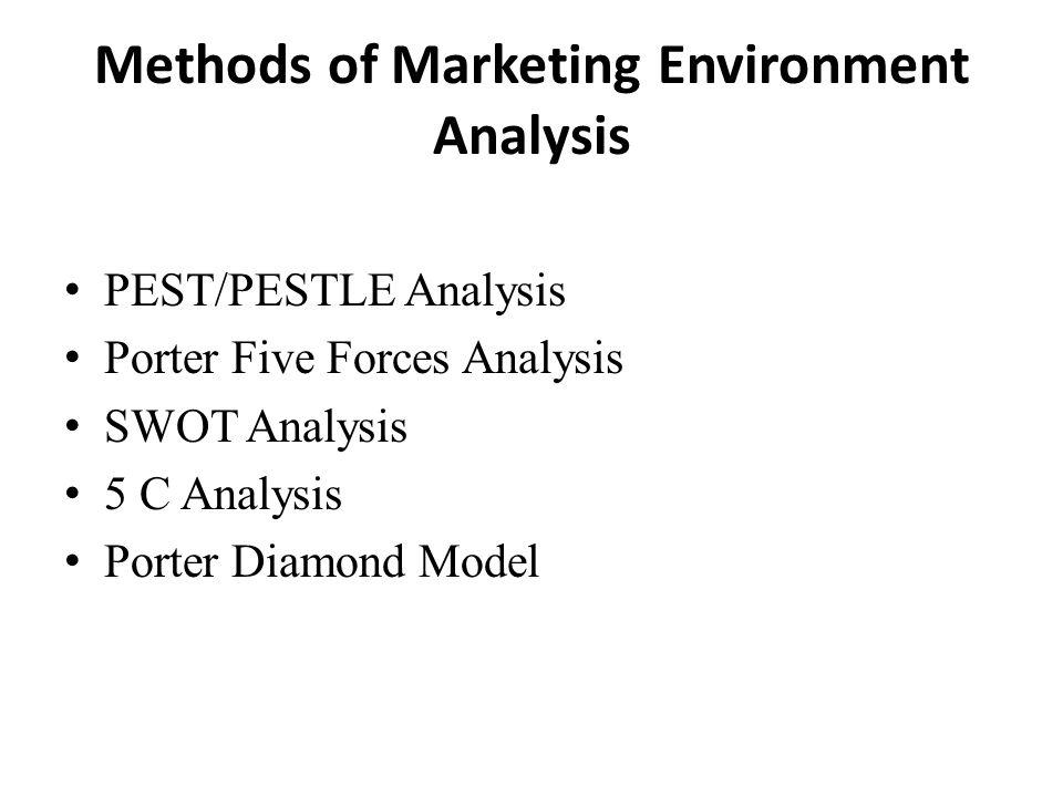 PESTLE and Porter's 5 Forces Analysis: Two Crucial Concepts for Business Leaders & Sales People
