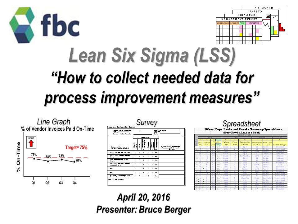 lean six sigma lss how to collect needed data for process