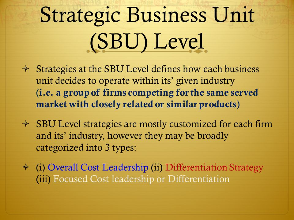 tesco strategic business units The uk operation is the largest out of all the tesco business units (kumar, 2008) the vision of tesco has 4 major objectives such as creating need and demand.
