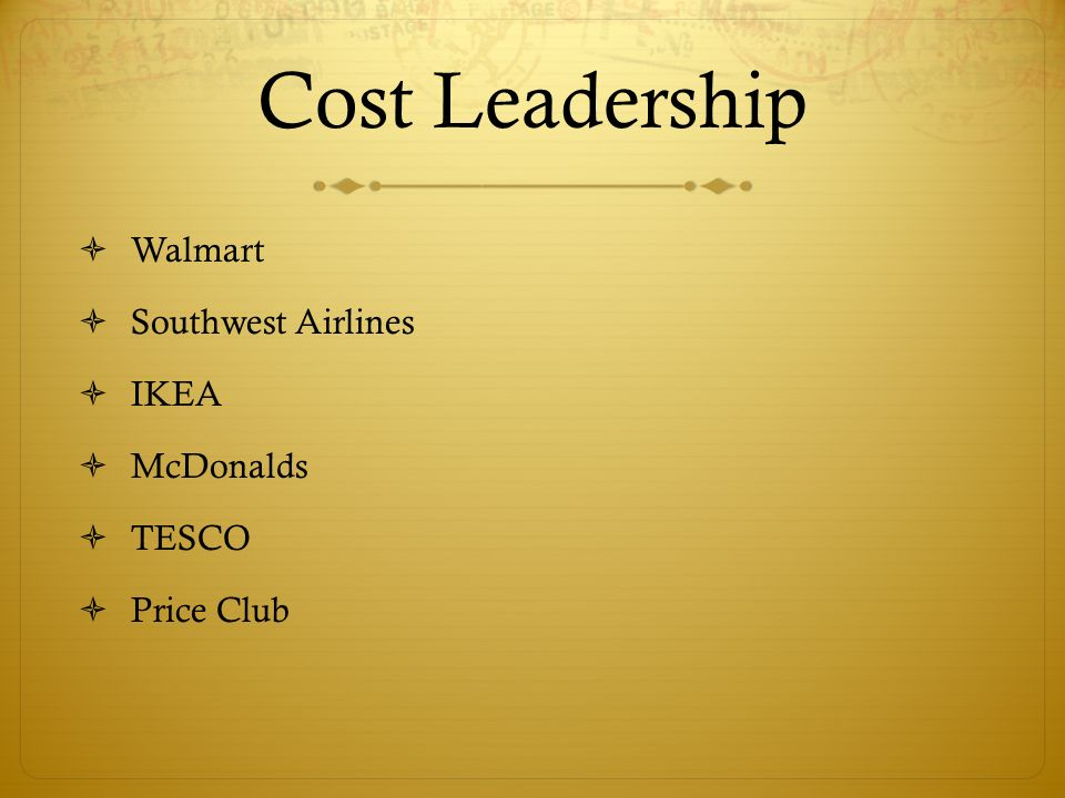 Price leadership strategy for malaysia airlines